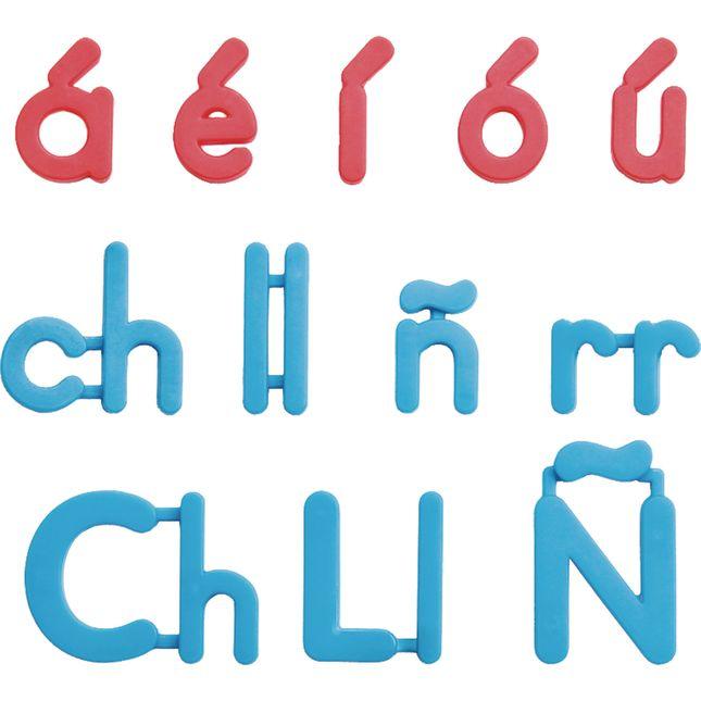 Spanish Plastic Magnetic Letters