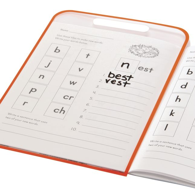 Dry Erase Worksheet Covers - 10 covers