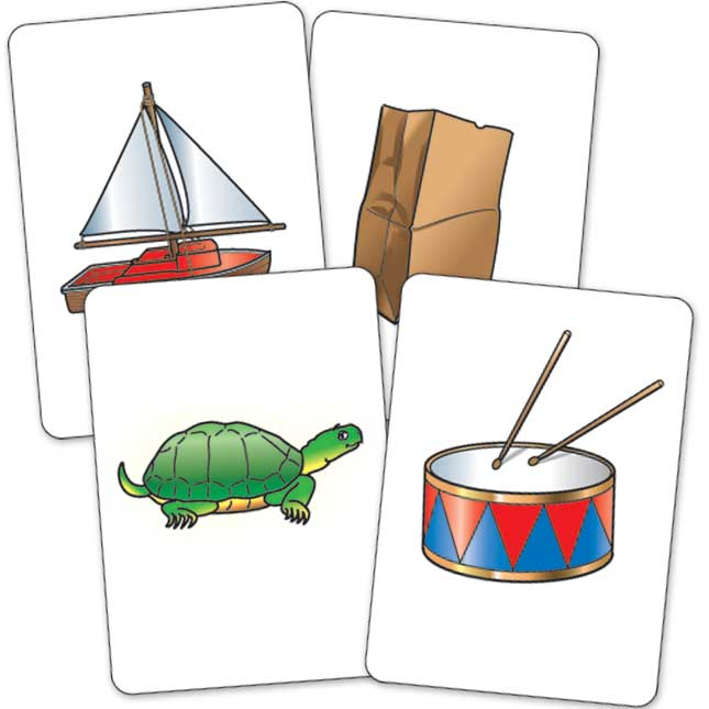 A¡Vete a pescar! - Los sonidos iniciales (Spanish Go Fish - Beginning Sounds)