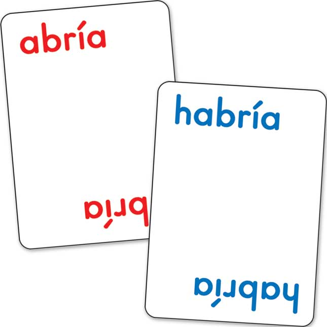 Palabras HomoA´fonas (Spanish Homophone Learning Deck Cards™)