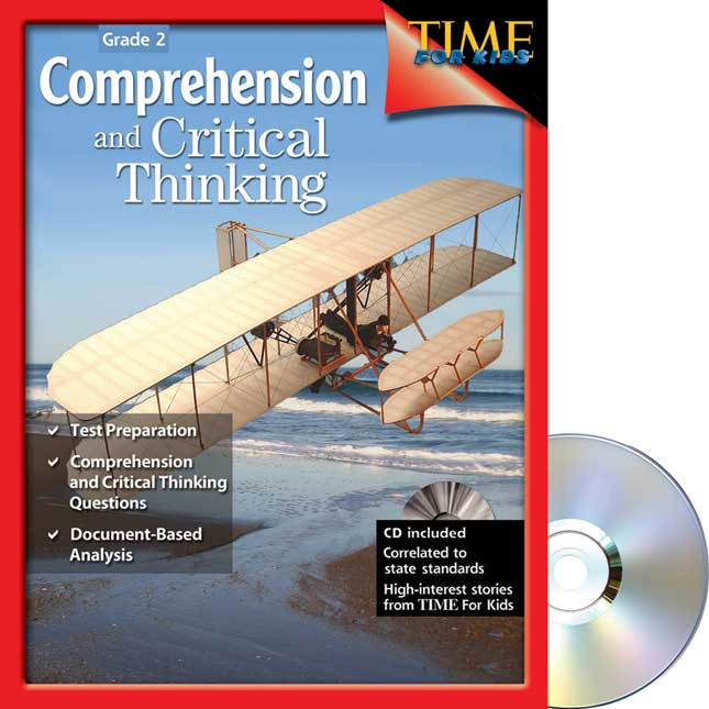 Comprehension and Critical Thinking - TIME For Kids®-  Grade 2