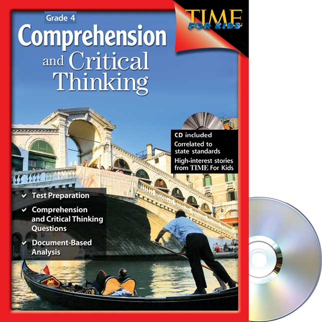 Comprehension and Critical Thinking - TIME For Kids® -  Grade 4