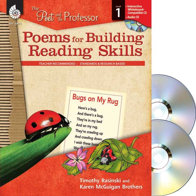 Poems for Building Reading Skills - Grade 1