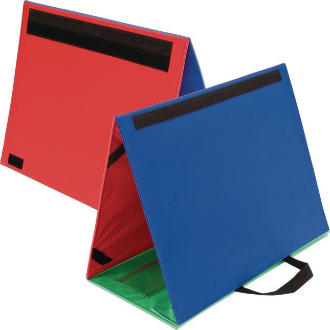 Desktop Pocket Charts And Stand - 2 pocket charts, 1 chart stand