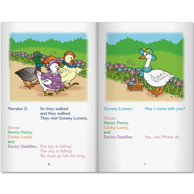 Readers' Theater Folk Tales Set 1 and 2