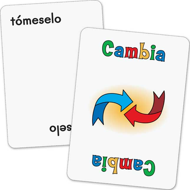 Spanish Crazy Eights! Accented Syllables (SAlabas acentuadas)