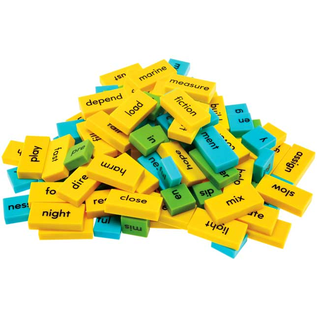 Word Building Dominoes