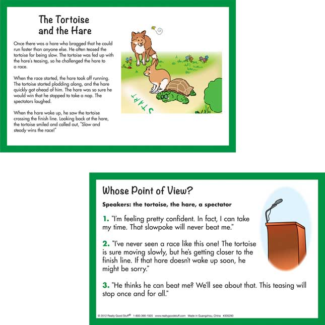 Tell A Tale: Point Of View Literacy Center