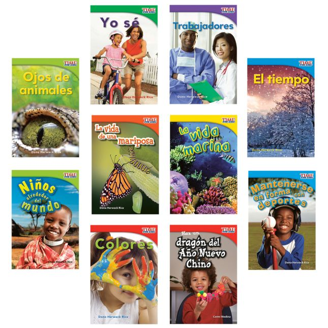 Time For Kids®: Nonfiction Readers Grade 1, Set 2 - Spanish