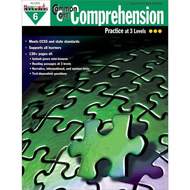 Common Core Comprehension Book - Grade 6