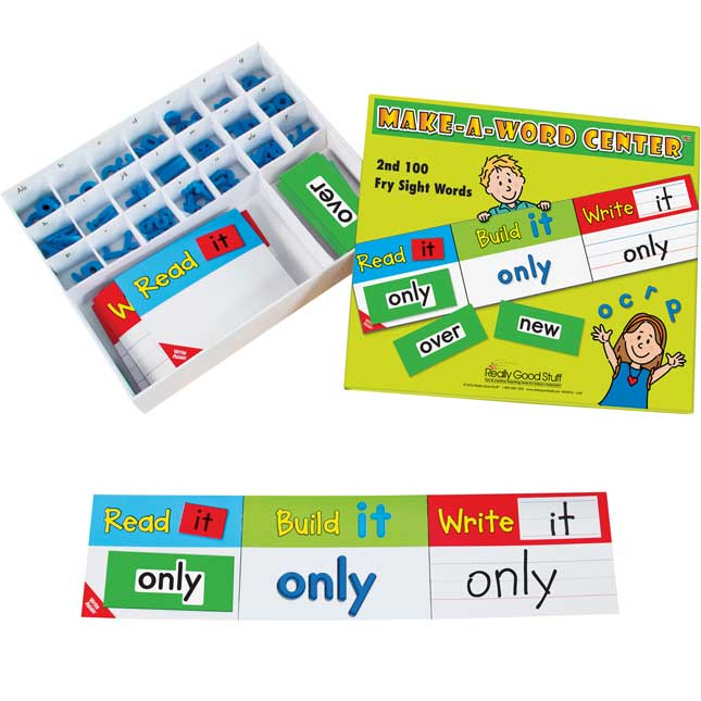 Make-A-Word Center™: 2nd 100 Fry Sight Words