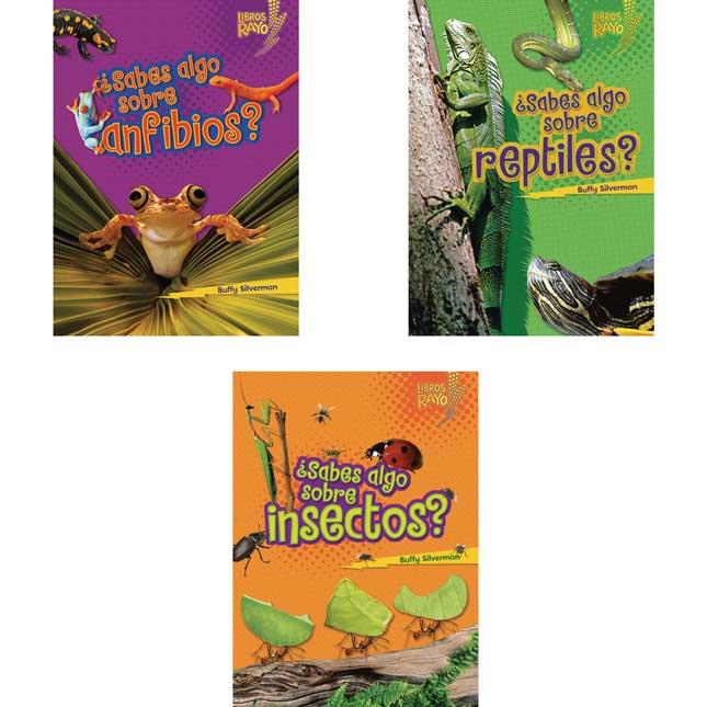Libros Rayo Conoce Los Grupos De Animales Book Set