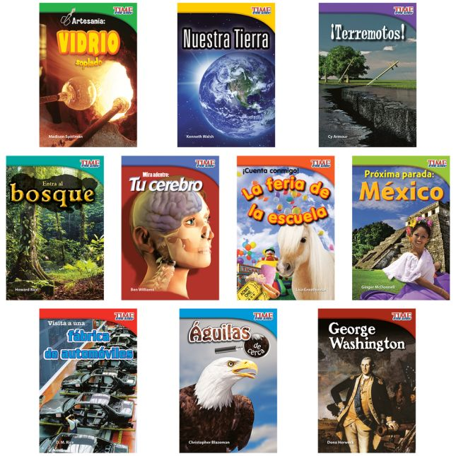Time For Kids®: Nonfiction Readers Grade 2, Set 1 - Spanish