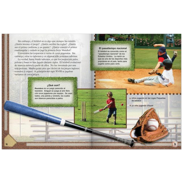TIME For Kids®: Nonfiction Readers Grade 3, Set 1 - Spanish