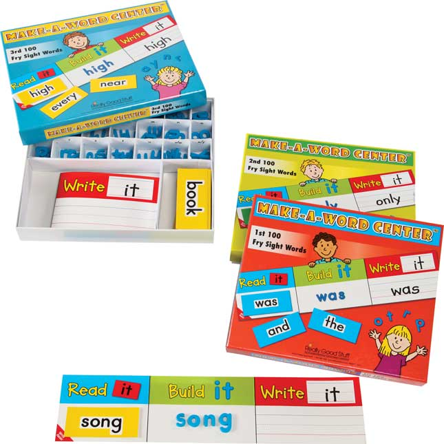 Make-A-Word Center™: Fry Sight Words Complete Set