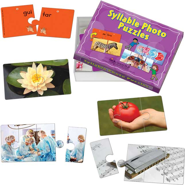Syllable Photo Puzzles