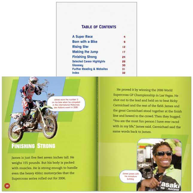 Amazing Athletes: More Sports 10-Book Set