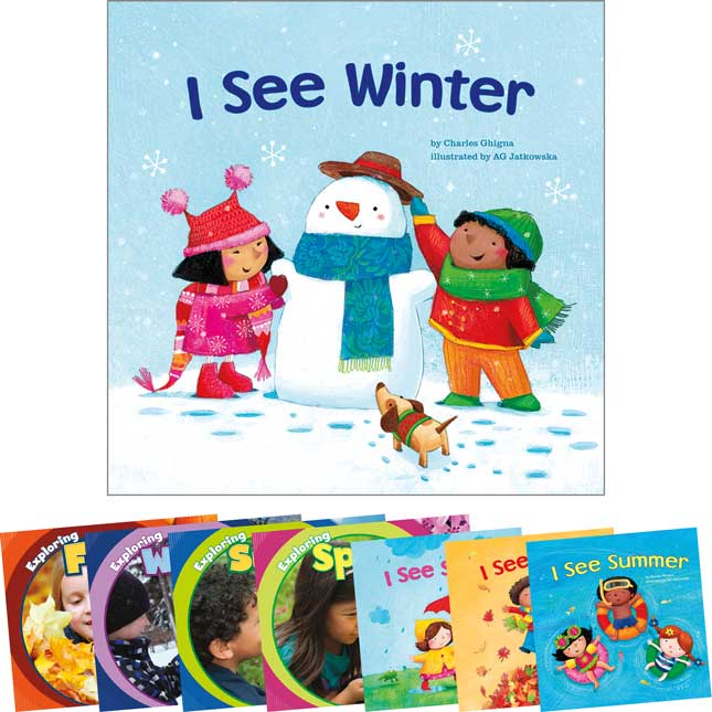 Seasons Fiction/Nonfiction Pairs 8-Book Set