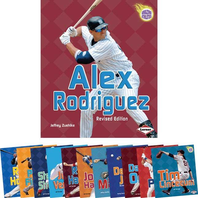 Amazing Athletes - Baseball - 12-Book Set