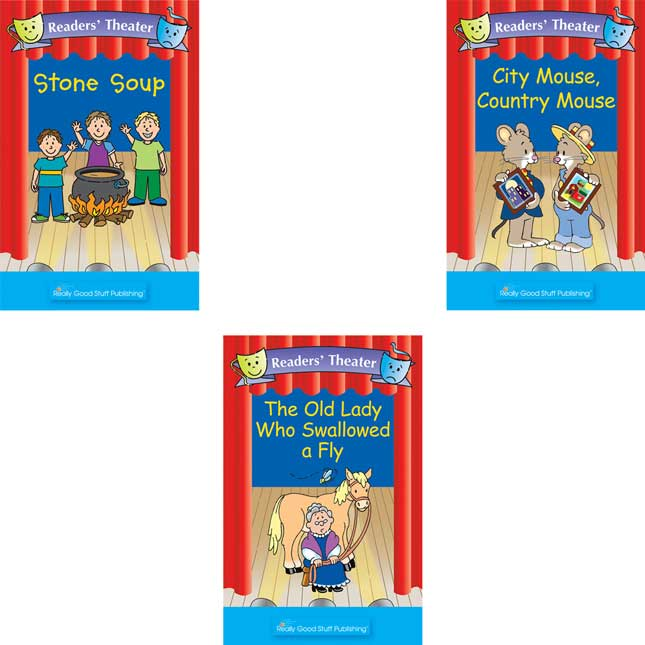 Readers' Theater FolkTales Student and Big Book Package - Set 1