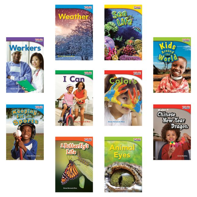 Time For Kids®: Nonfiction Readers - Grade 1, Set 2