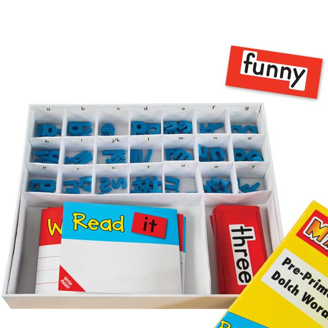 EZread™ Dolch Pre-Primer Word Kit
