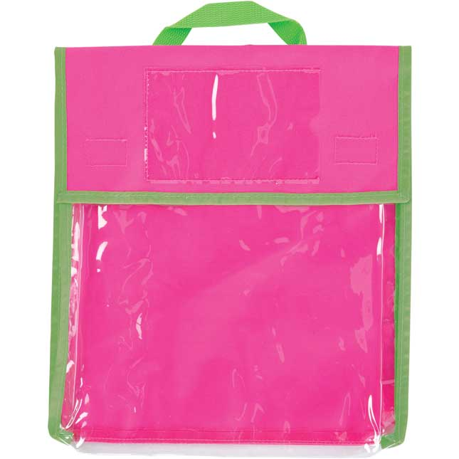Store More® Medium Clearview Book Pouches - Single-Color - Set Of 36