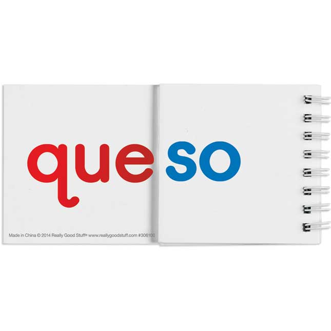 Spanish Syllable Flip Books