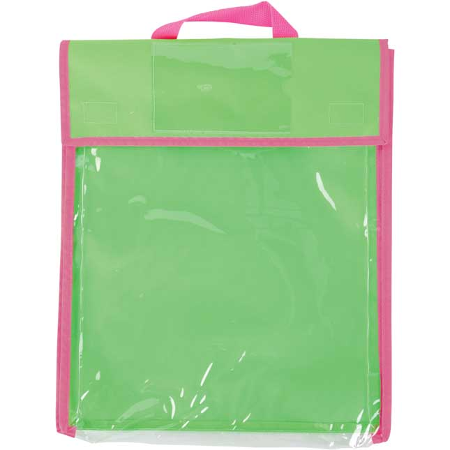 Store More® Large Clearview Book Pouches - Single-Color - Set Of 36