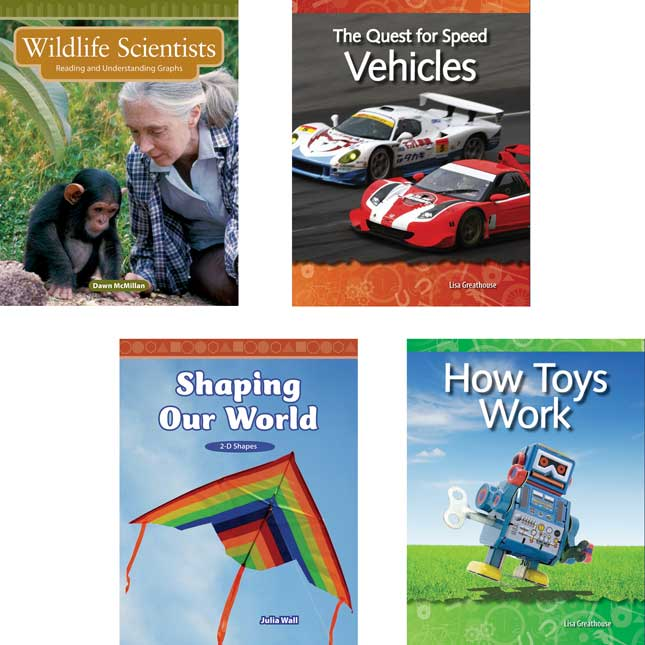 STEM 10-Book Set - Grade 3