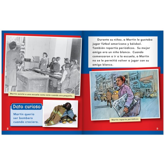 American Biographies: Men - Spanish - 9-Book Set