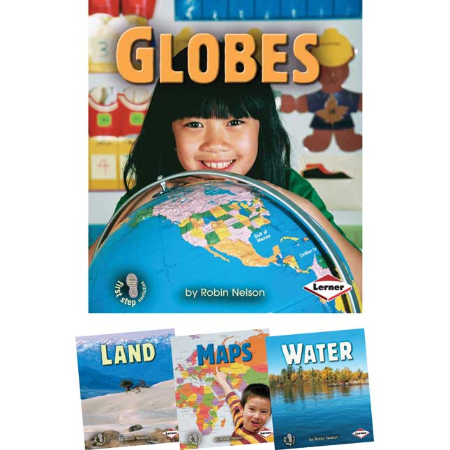 First Step Nonfiction: Geography - 4-Book Set