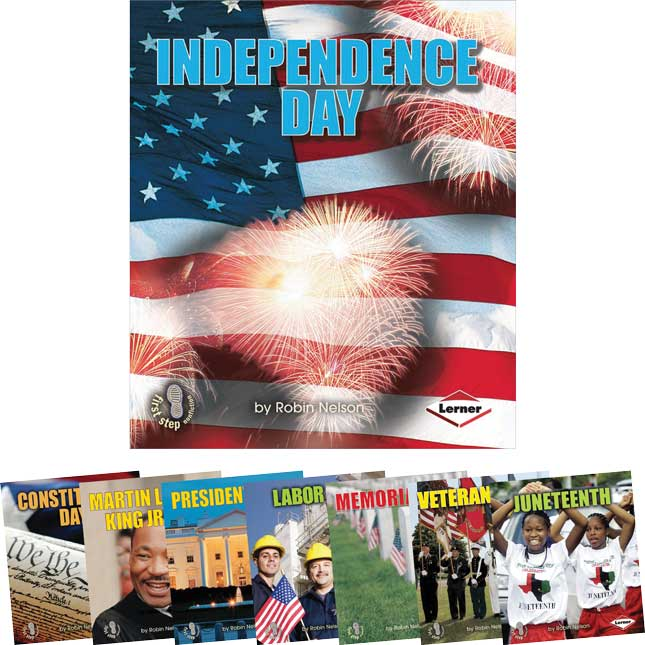 First Step Nonfiction: American Holidays - 8-Book Set