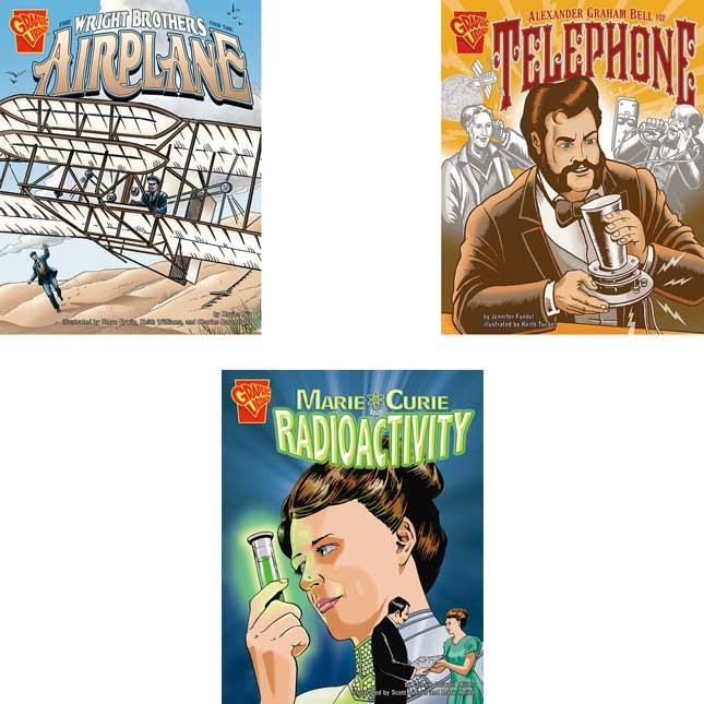 Graphic Library: Inventions And Discovery- 10-Book Set