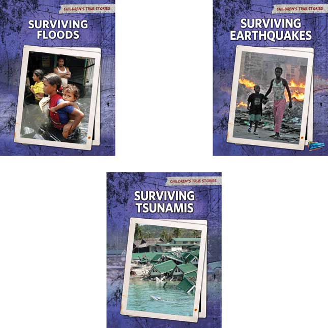 Children's True Stories: Natural Disasters 6-Book Set