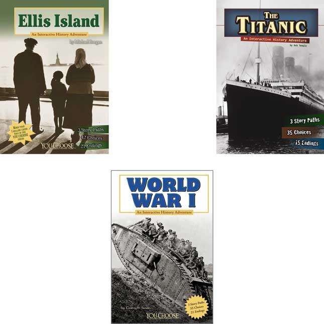 You Choose: History (Set B) - 10-Book Set