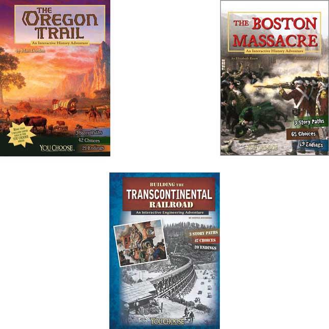 You Choose: History (Set A) - 10-Book Set