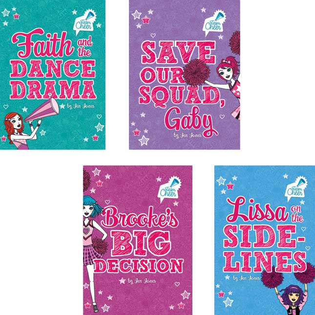 Team Cheer 8-Book Set