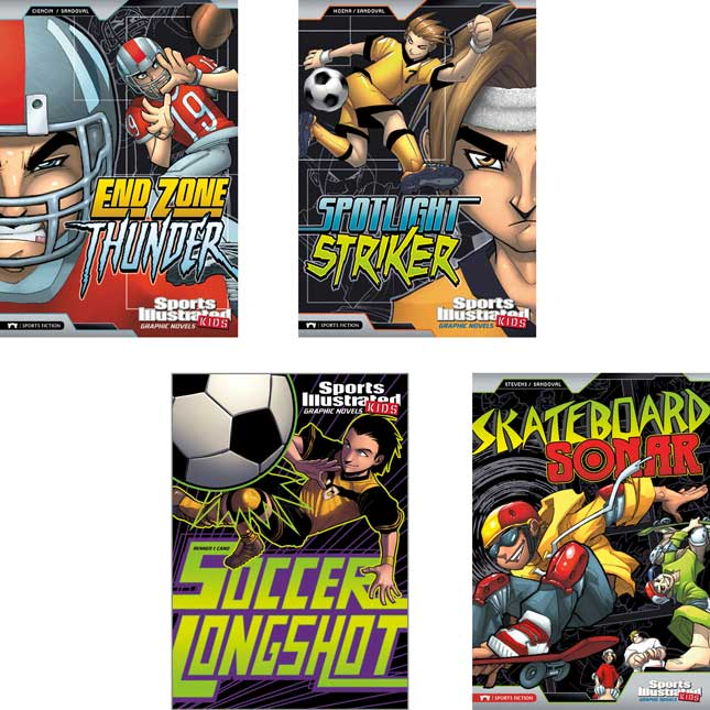 Sports Illustrated Kids Graphic Novels 12-Book Set