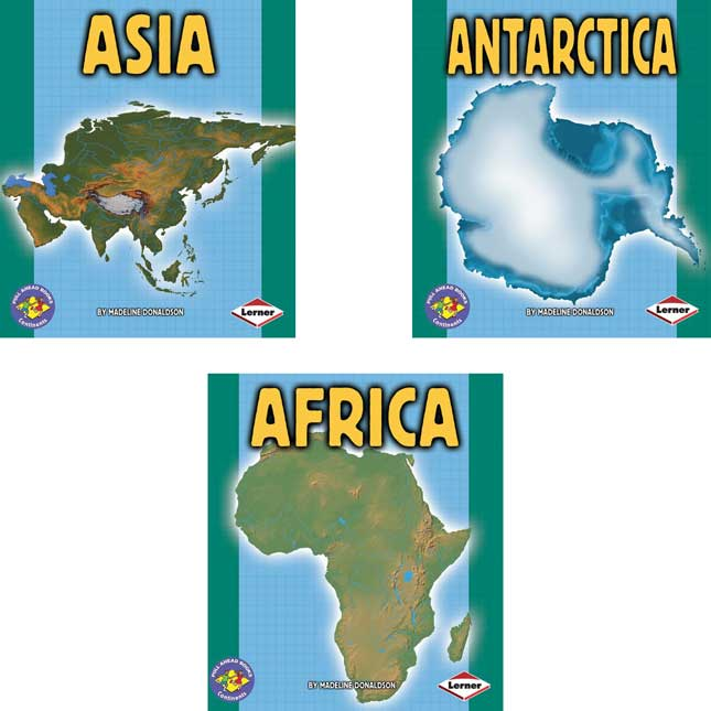 Pull-Ahead Books: Continents - 7-Book Set