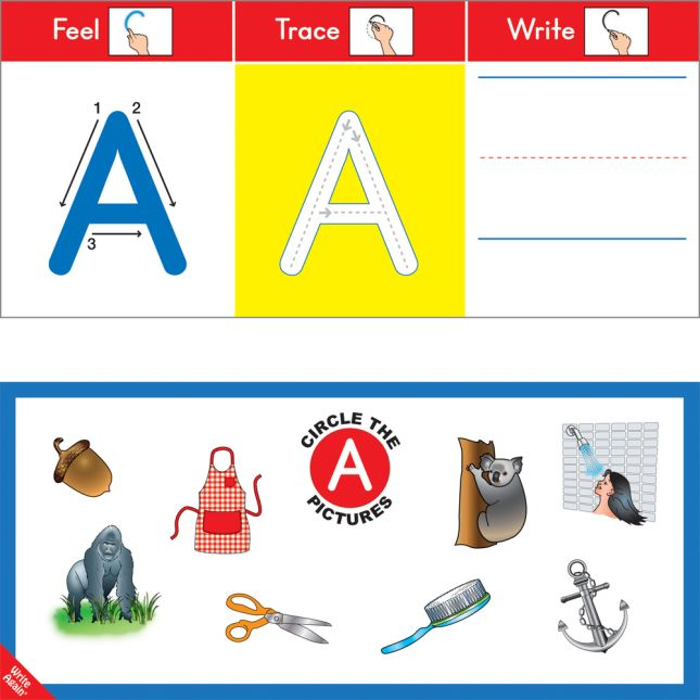 Feel, Trace and Write™ Alphabet