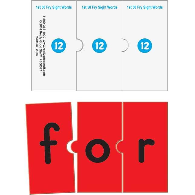 EZread™ Fry Sight Word Puzzles