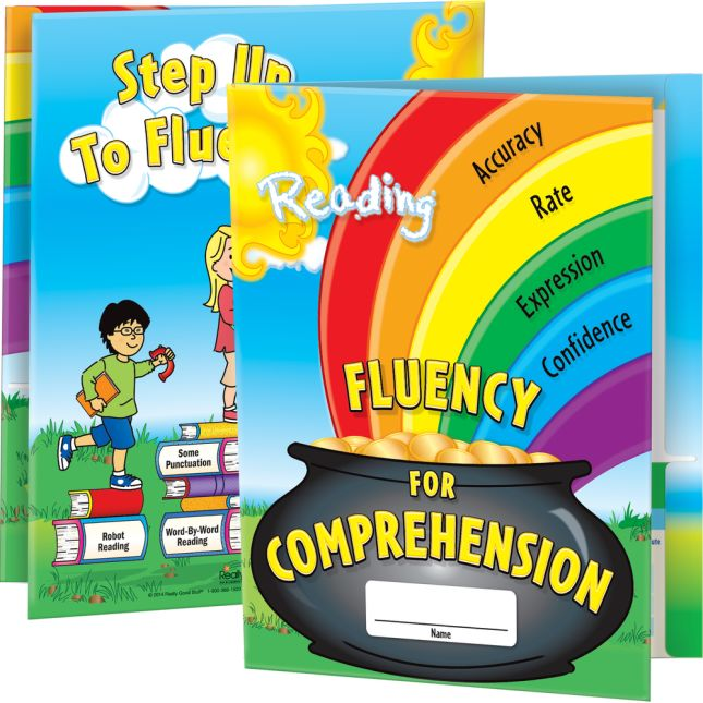Fluency For Comprehension Folders - 12 folders