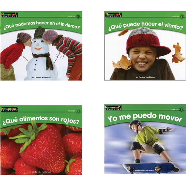 Rising Readers Spanish - Science Book Set - Vol. 1
