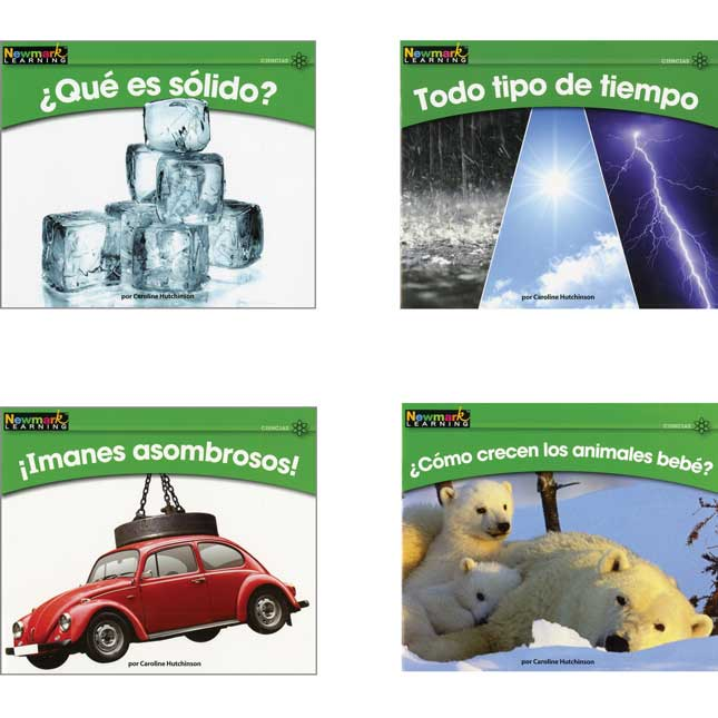 Rising Readers Spanish - Science Book Set - Vol. 2