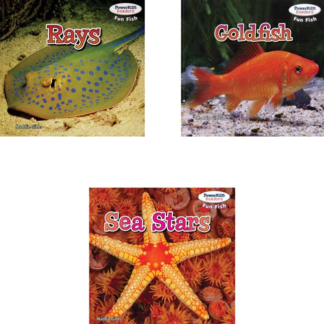 PowerKiDS Readers - Fun Fish - 6-Book Set