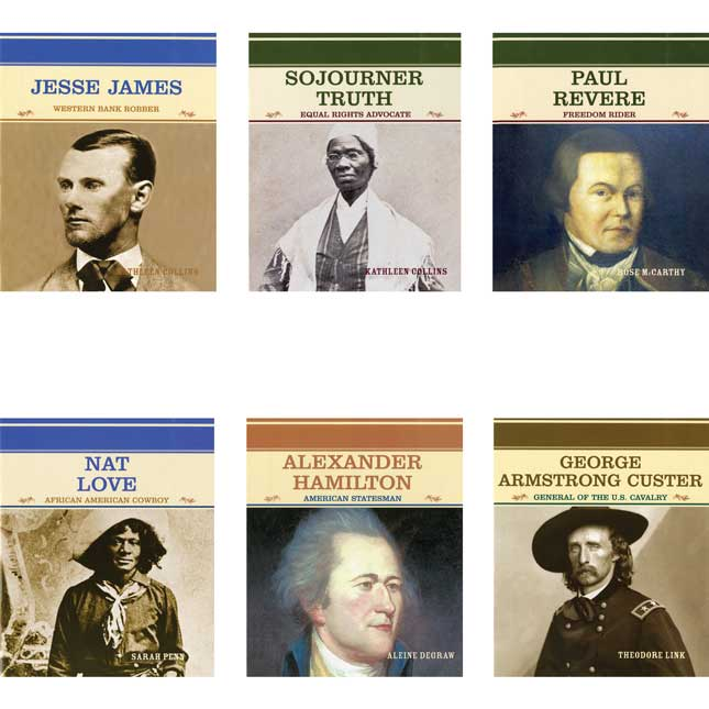Famous People In American History - 24-Book Set