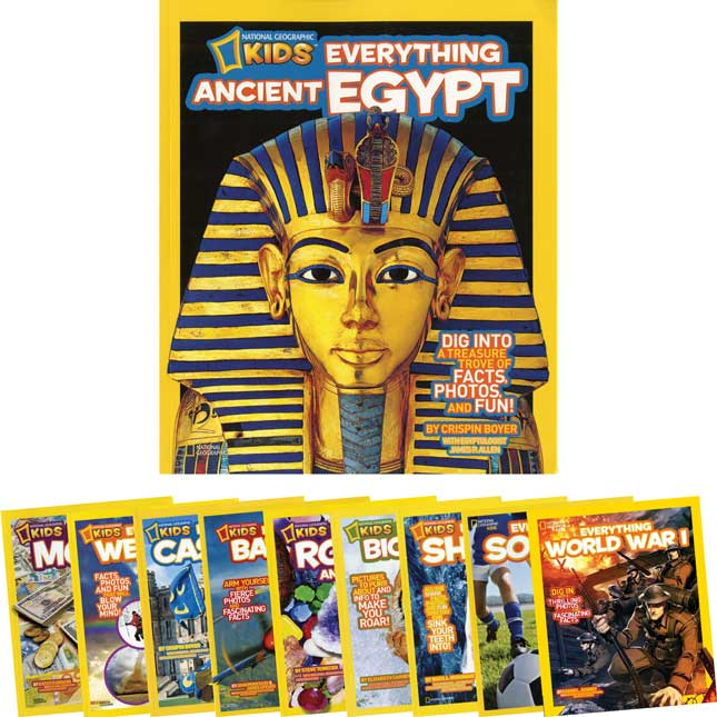National Geographic Kids Everything - 10-Book Set