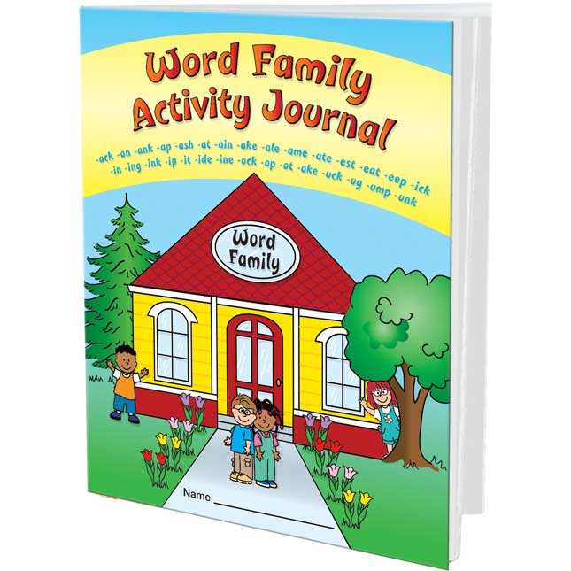 Word Families Activity Journals - 12 journals