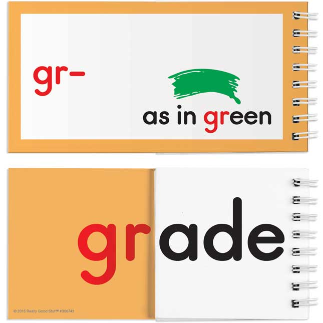 EZread™ Blends And Digraphs Flip Books